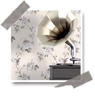 Papier peint Aromas pour une décoration vintage
