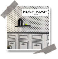 nafnaf vignette1 Nouvelle collection : papiers peints Naf Naf