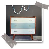 DIY : Restaurer un meuble vintage avec les peintures Little Greene