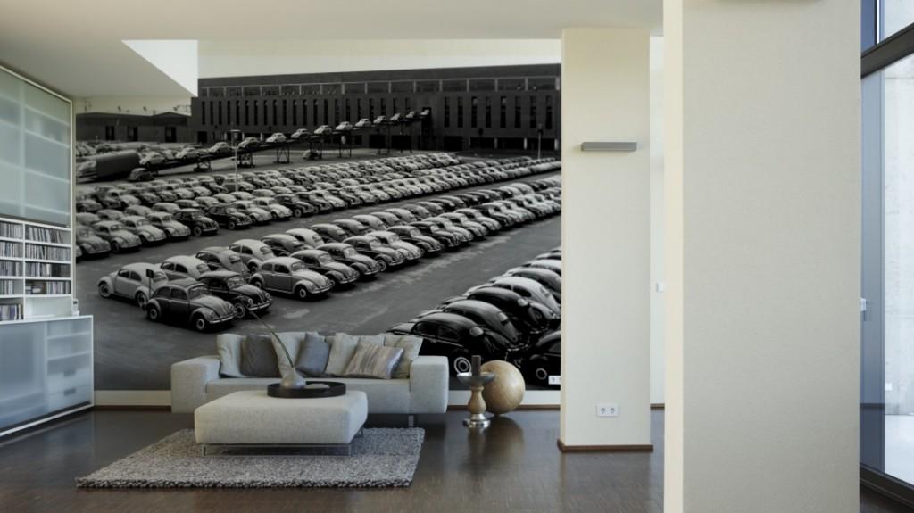 Parking Coccinelle VW