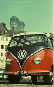 Papier peint Combi Volkswagen