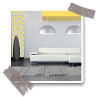 salon design jaune aperçu Couleur tendance : le Jaune