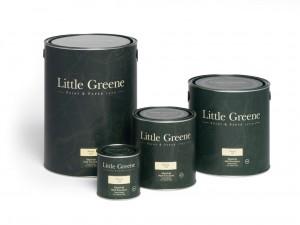 4 pots de peinture Little Greene