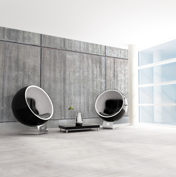 decoration mur beton brut. Black Bedroom Furniture Sets. Home Design Ideas