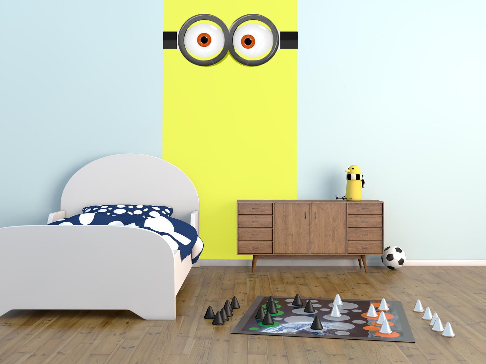 Tendance ma d coration et la couleur jaune for Decoration chambre les minions