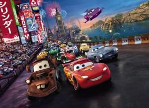 4 401 Cars Race m 300x217 Nouvelle Collection : Papier peint Disney