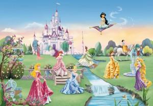8 414 Princess Castle m disney blog 300x207 Nouvelle Collection : Papier peint Disney