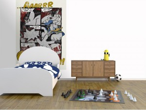 poster mickey 4 421 komar ambiance 300x225 Rentrée : Aménager une chambre denfant !