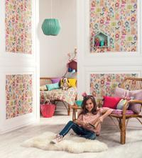 Décorer une chambre d'enfant avec un papier peint rigolo