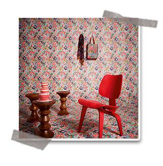 Nouvelle collection Oilily home : des papiers peints colorés
