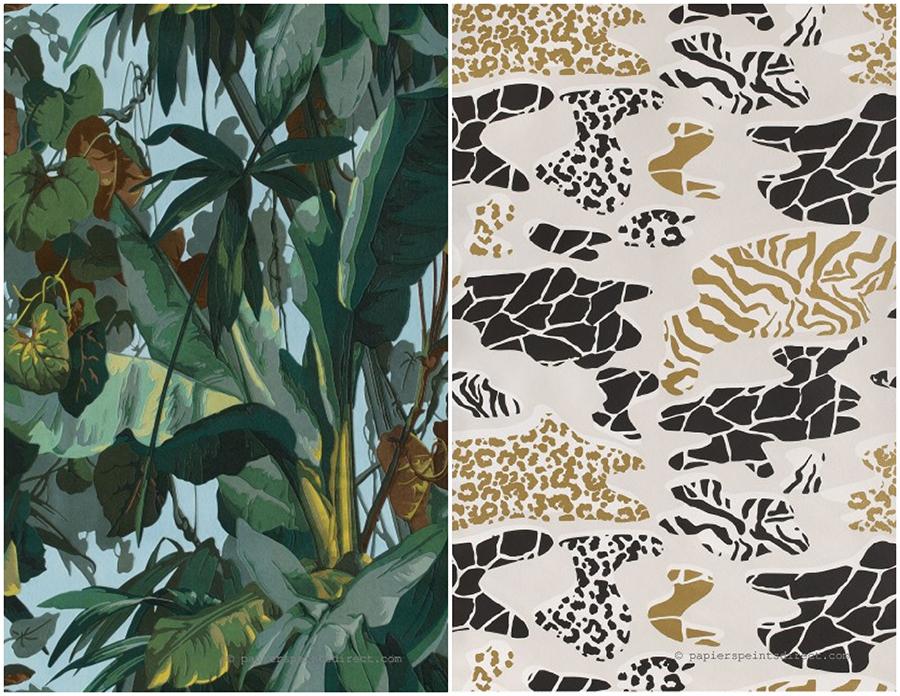 Papiers peints Jungle par AS Creation et Lutece