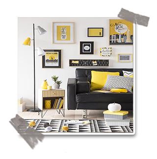 Tendance déco : la couleur jaune