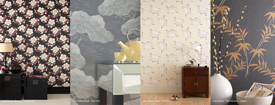 Papiers peints japonisants