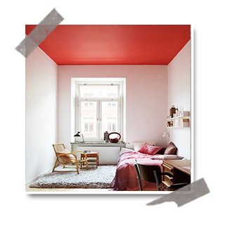 Interieuretdecoration : Oseriez-vous peindre votre plafond ?