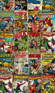 Papiers peints XXL Marvel-Cover-Retro