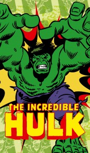 Papiers peints XXL Marvel-Comics-The-Incredible-Hulk