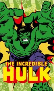 Papiers peints XXL Marvel-Comics-The-Incredible-Hulk