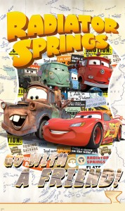 Papiers peints XXL Cars : Radiator Springs