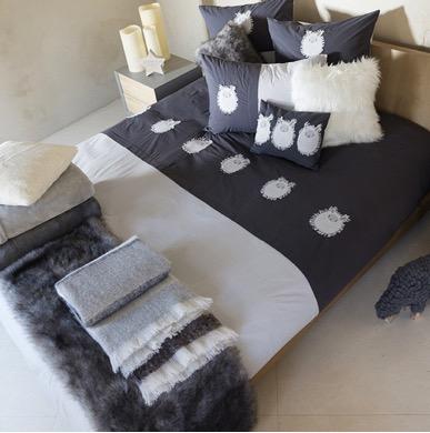 Décoration textile : couette et oreiller