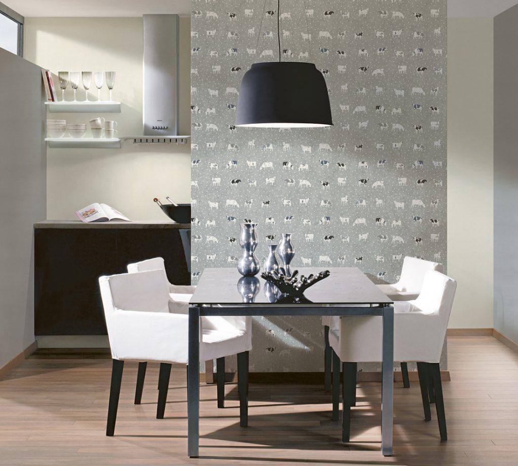 Nouveau modèle de papier peint pour la cuisine de la collection Kitchen Dreams
