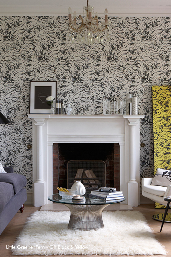 L'ambiance Jungle en noir et blanc, vue par Little Greene
