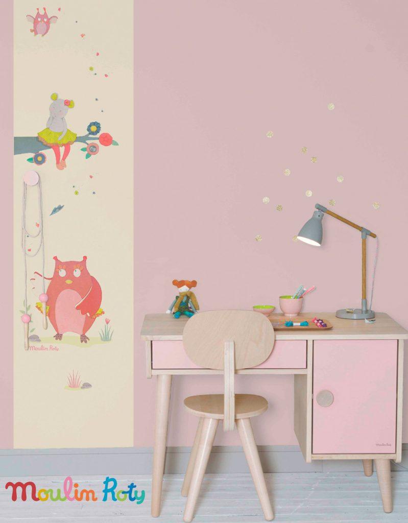Nouveaux modèles de la collection Les petits curieux / Moulin Roty pour chambres d'enfants