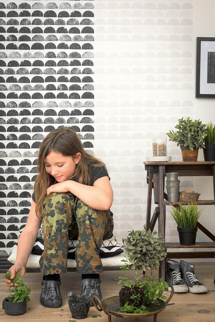 tendance d co tout en noir et blanc le blog int rieur et d coration. Black Bedroom Furniture Sets. Home Design Ideas