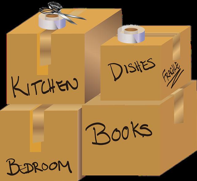 Déménagement : identifier mes cartons