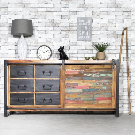 Meuble de style industriel chez made-in-meubles.com