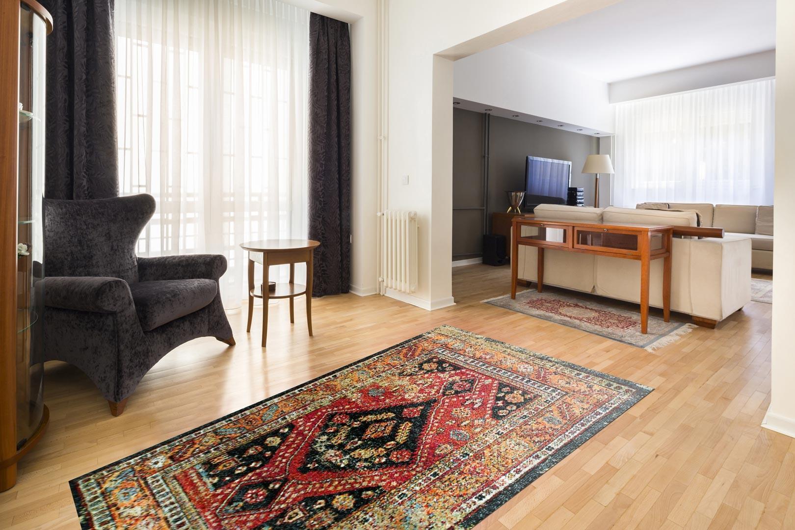 Un tapis pour une ambiance orientale