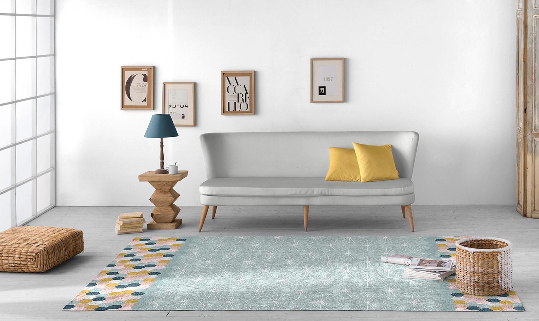 Un tapis pour une ambiance scandinave