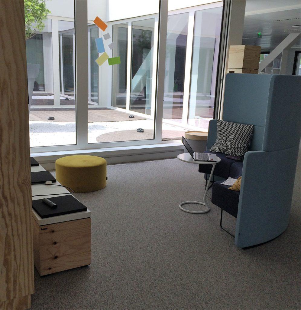 Locaux de l'EM Lyon Business School dans le bâtiment du Silex à la Part-Dieu