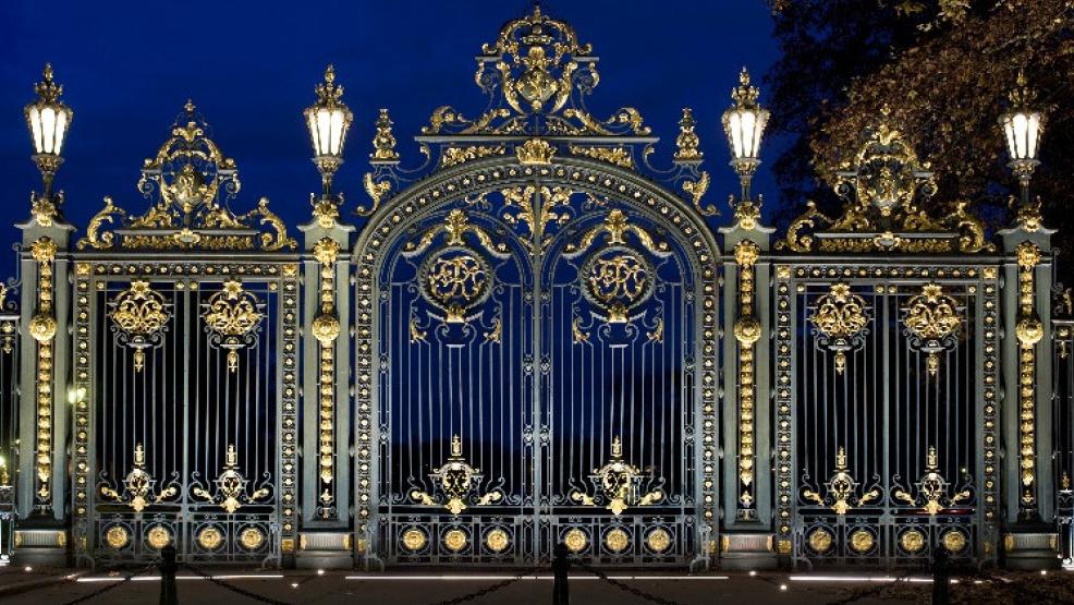 Portail du Parc de la Tête d'Or. Ville de Lyon