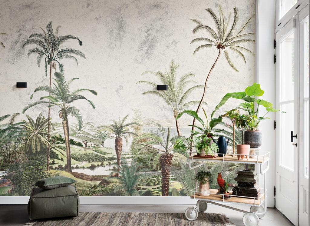 Fresque Jungle pour la décorer la salle à manger