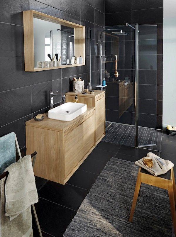Meuble de salle de bain suspendu Lapeyre