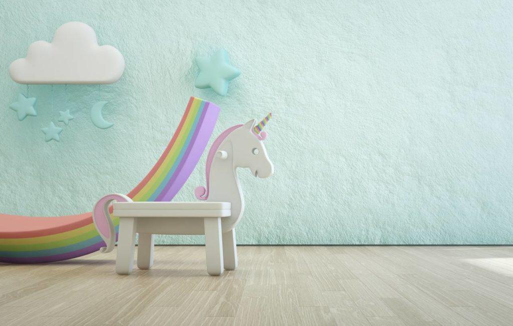 Décoration cheval chambre d'enfant
