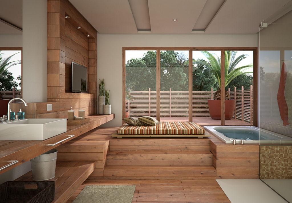 Le spa est le coin détente par excellence.