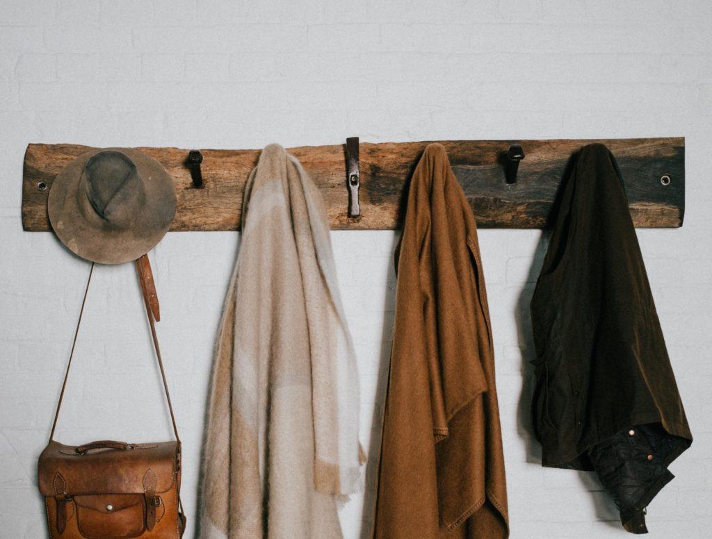 porte manteau pour aménager son entrée