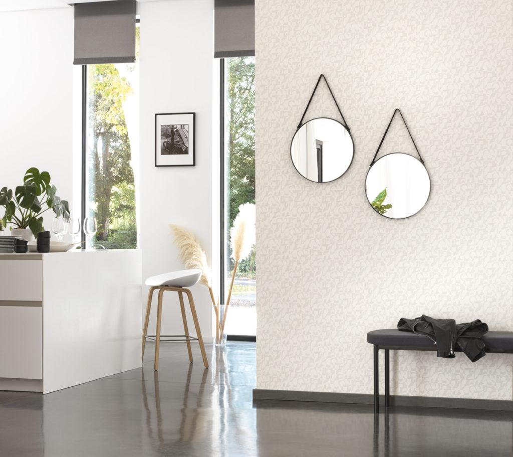 intérieur lumineux : décoration avec des miroirs